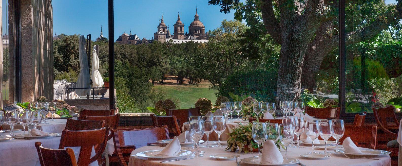 Restaurante del Real Club de Golf Madrid La Herrería-mejores-campos-de-golf-madrid